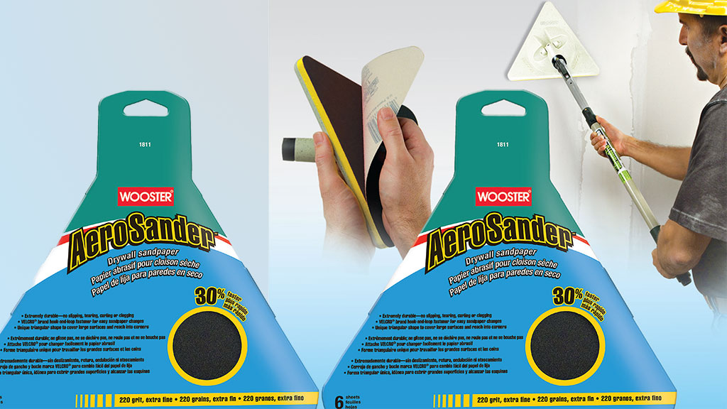 Wooster high production triangular sander