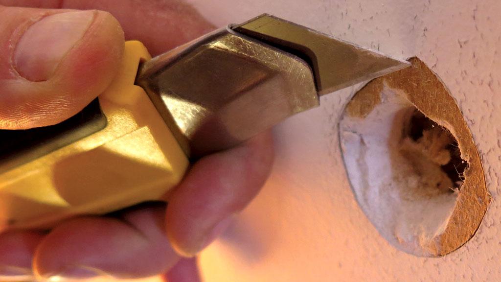 fixing large holes